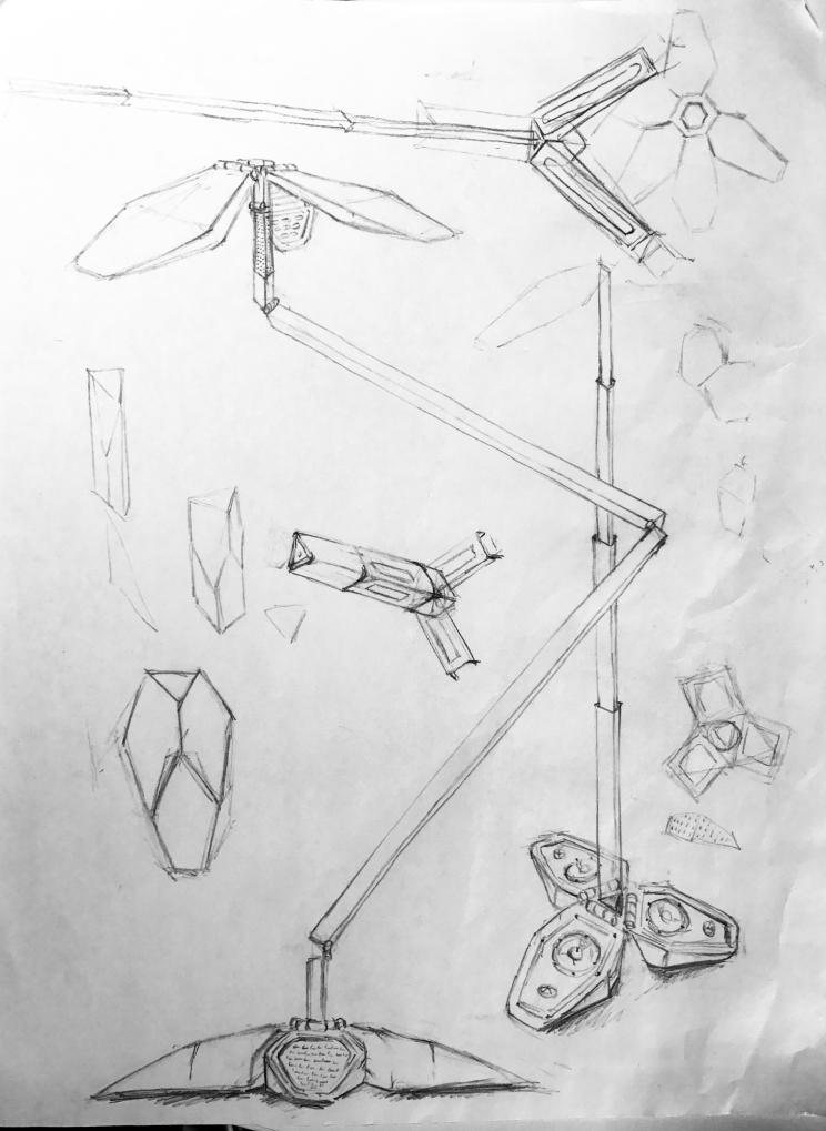 blader-linedrawings